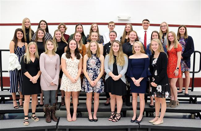 Paul V. Moore Inducts 2019-20 National Honor Society Members